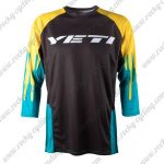 2015 YETI RIDE DRIVEN Motocross MTB Outfit Off Road Riding Jersey Black Yellow Blue