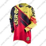 2016 ANSR Elite Motocross MTB Apparel Off Road Jersey Yellow Black Red