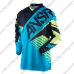 2016 ANSR SYNCRON Motocross MTB Apparel Off Road Jersey Black Blue
