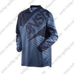 2016 ANSR SYNCRON Motocross MTB Apparel Off Road Jersey Black Grey