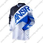 2016 ANSR SYNCRON Motocross MTB Apparel Off Road Jersey Black White Blue