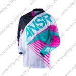 2016 ANSR SYNCRON Motocross MTB Apparel Off Road Jersey Black White Blue Pink
