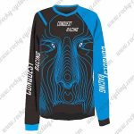 2016 CONQUEST RACING Motocross MTB Outfit Off Road Jersey Black Blue
