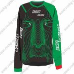 2016 CONQUEST RACING Motocross MTB Outfit Off Road Jersey Black Green