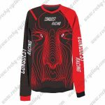2016 CONQUEST RACING Motocross MTB Outfit Off Road Jersey Black Red