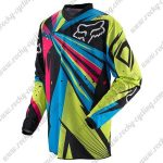 2016 FOX Downhill MTB Racing Jersey Shirt Colorful