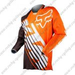 2016 FOX KTM Motocross Racing Jersey Shirt Orange Black