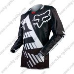 2016 FOX Motocross Racing Jersey Shirt Black