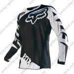 2016 FOX Motocross Racing Jersey Shirt Black White