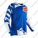 2016 FOX Motocross Racing Jersey Shirt Blue White