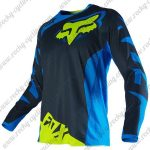 2016 FOX Motocross Racing Jersey Shirt Blue Yellow
