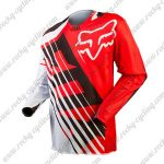 2016 FOX Motocross Racing Jersey Shirt Red White