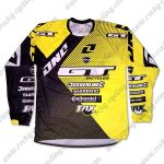 2016 GT DNC Motocross Racing Jersey Yellow Black