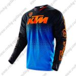 2016 KTM TLD Motocross Racing Jersey Shirt Black Blue