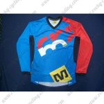 2016 MAVIC MTB Riding Long Sleeves Jersey Blue Red