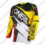 2016 ONEAL Motocross MTB Apparel Off Road Jersey Black Yelow White