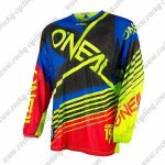 2016 ONEAL Motocross MTB Apparel Off Road Jersey Blue Black Yellow Red