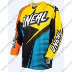 2016 ONEAL Motocross MTB Apparel Off Road Jersey Orange Yellow Black Blue
