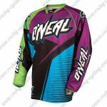 2016 ONEAL Motocross MTB Apparel Off Road Jersey Purple Black Blue