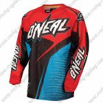 2016 ONEAL Motocross MTB Apparel Off Road Jersey Red Black Blue