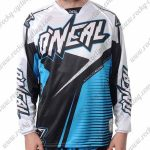 2016 ONEAL Motocross MTB Apparel Off Road Jersey White Black Blue