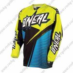 2016 ONEAL Motocross MTB Apparel Off Road Jersey Yellow Black Blue