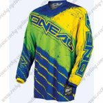 2016 ONEAL Motocross MTB Apparel Off Road Jersey Yellow Green Blue