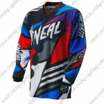 2016 ONEAL Motocross MTB Apparel Racing Jersey Blue Red Colorful