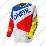 2016 ONEAL Motocross MTB Apparel Racing Jersey Blue White Red