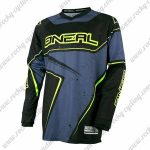 2016 ONEAL Motocross MTB Clothing Biking Jersey Black Grey