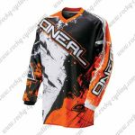 2016 ONEAL Motocross MTB Clothing Off Road Jersey Orange Black