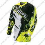 2016 ONEAL Motocross MTB Clothing Off Road Jersey Yellow Black