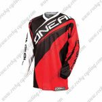 2016 ONEAL Motocross MTB Mountain Biking Jersey Black Red