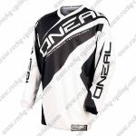 2016 ONEAL Motocross MTB Mountain Biking Jersey Black White
