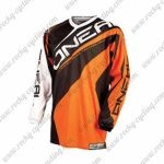 2016 ONEAL Motocross MTB Outfit Riding Jersey Black Orange