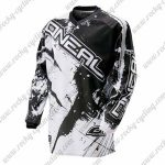 2016 ONEAL Motocross MTB Outfit Riding Jersey Black White