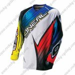2016 ONEAL Motocross MTB Outfit Riding Jersey Blue White Red