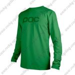 2016 POC Downhill MTB Riding Jersey Green