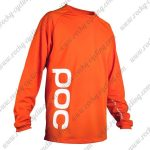 2016 POC Downhill MTB Riding Jersey Orange