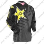 2016 ROCKSTAR Motocross MTB Apparel Off Road Jersey Black