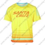 2016 SANTA CRUZ Downhill MTB Riding Jersey Yellow