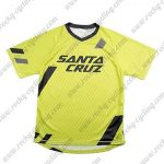 2016 SANTA CRUZ Motocross Downhill MTB Riding Jersey Yellow