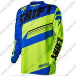 2016 SHIFT ASS MTB Apparel Off Road Jersey Blue Green