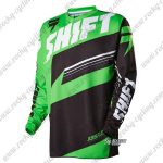 2016 SHIFT ASS MTB Apparel Off Road Jersey Green Black