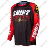 2016 SHIFT MX MTB Apparel Off Road Jersey Black Red