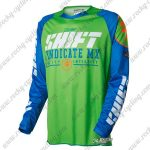 2016 SHIFT MX MTB Apparel Off Road Jersey Green Blue