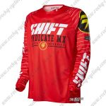 2016 SHIFT MX MTB Apparel Off Road Jersey Red