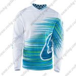 2016 TLD Downhill MTB Riding Jersey White Blue