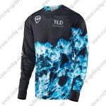 2016 TLD MTB Racing Jersey Black Blue
