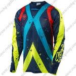 2016 TLD MTB Riding Jersey Colorful Stars